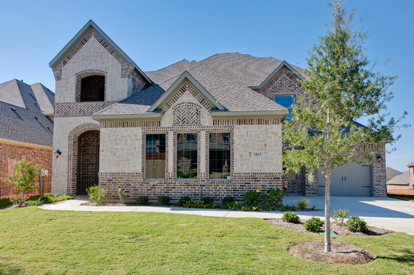denton county custom homes
