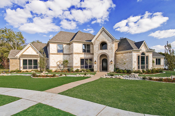 flower mound custom homes