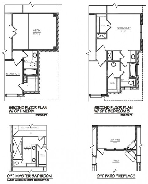 Choosing A Floor Plan For Your Flower Mound Custom Home - New