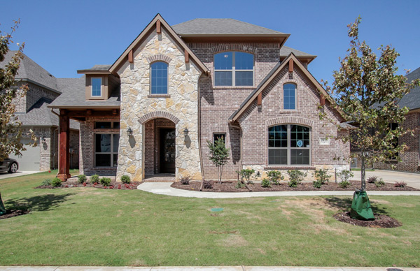 New Custom Homes In Ponder Tx For A Quiet Rural Setting