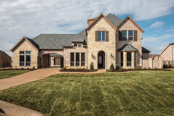 custom highland village home