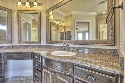 Custom bathroom lighting Ceiling Bud Bartley Homes Custom Home In Highland Village Bathroom Lighting Tips