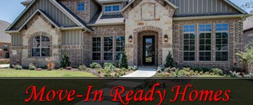 Why Choose Move-in Ready Homes in Highland Village?