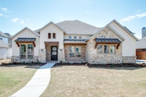 newly constructed dallas home