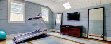 Want A Home Gym In Your Custom Home? Stay Fit On The Cheap