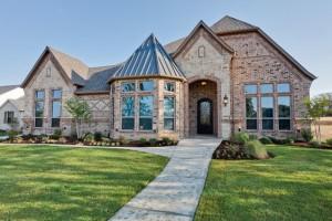 custom home in north texas
