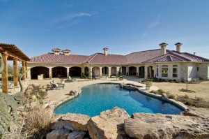 custom home in north texas