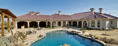 Luxury Outdoor Living Spaces – Custom Home In North Texas